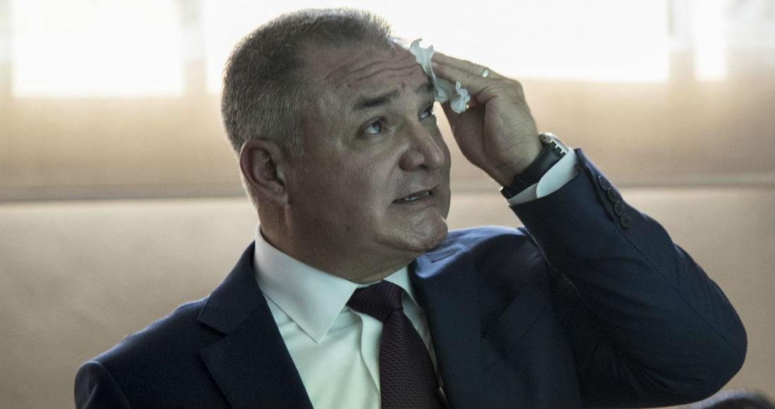 Genaro García Luna, ex Secretario de Seguridad Pública.