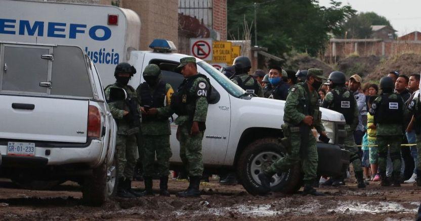 cuartoscuro 765782 digital 1 - Una casa es atacada a balazos e incendiada con un artefacto explosivo en Guanajuato; hay un muerto