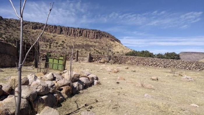 Uno de los varios ranchos que poseía César Duarte.