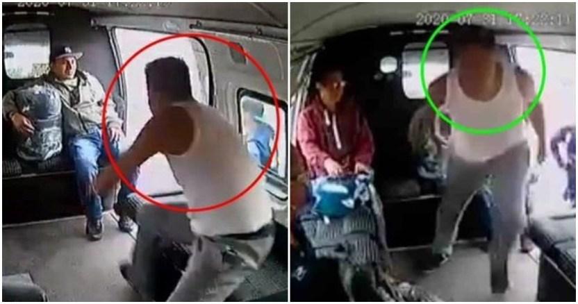 """asaltante golpeado 2 - CdMx: """"Hay una riña"""", alertaron a policías… Era el ladrón tratando de escapar de golpiza en Iztacalco"""
