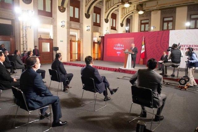 Andrés Manuel López Obrador encabezó esta mañana su tradicional encuentro matutino con la prensa.