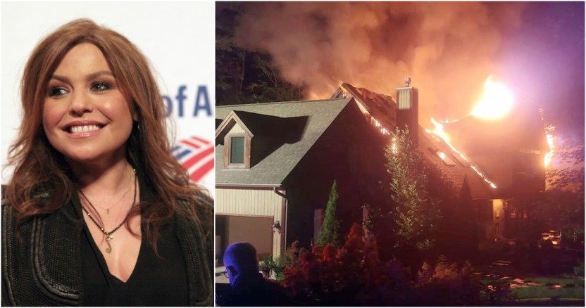 incendio casa rache ray - Tres incendios cerca de Los Ángeles, EU, son alimentados por vegetación seca y altas temperaturas