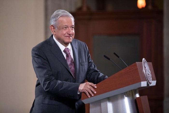 El mandatario en su conferencia de prensa matutina de este jueves en Palacio Nacional.