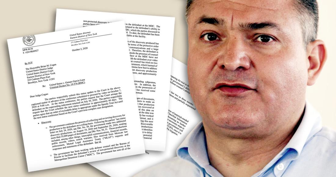 La periodista Dolia Estévez da a conocer esta tarde que el juicio contra Genaro García Luna, el Secretario de Seguridad Pública de Felipe Calderón Hinojosa, será corto: de apenas dos a tres meses.