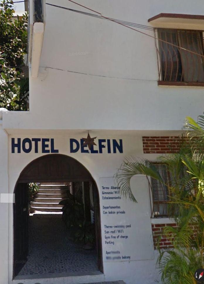 Imágenes del exterior del Hotel Delfín. Foto: Especial