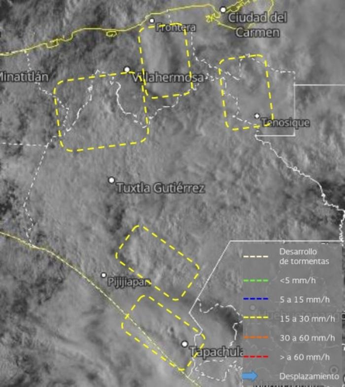 """nublados chiapas - """"Gamma"""" provoca 4 muertes en Chiapas; Tabasco reporta un deceso y 600 mil afectados por las lluvias"""