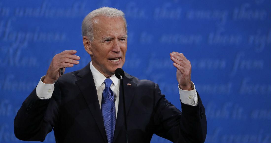 En la imagen, el candidato demócrata a la Presidencia, Joe Biden.