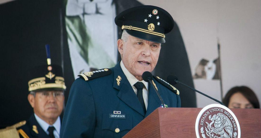 Cienfuegos, exsecretario de Defensa de Enrique Peña Nieto (2012-2018), fue detenido el pasado 15 de octubre en el aeropuerto de Los Ángeles y posteriormente trasladado a Nueva York.