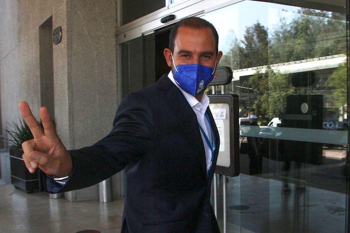 Marko Cortés, dirigente del Partido Acción Nacional (PAN).