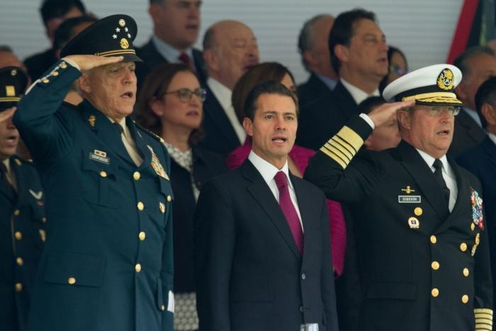 Salvador Cienfuegos Zepeda fue titular la de la Sedena durante el sexenio de Peña Nieto.