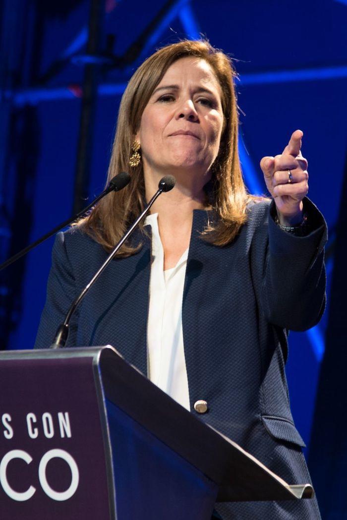 Margarita Zavala, esposa del expresidente Felipe Calderón y exaspirante a la Presidencia de México.