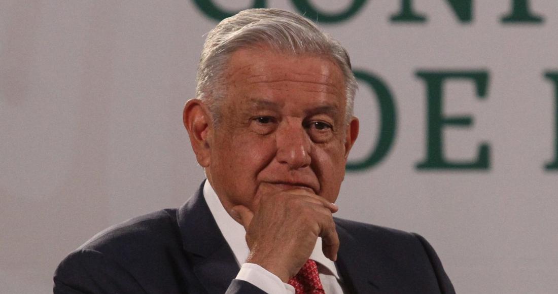 Andrés Manuel López Obrador, Presidente de México, encabezó la conferencia mañanera desde Palacio Nacional.