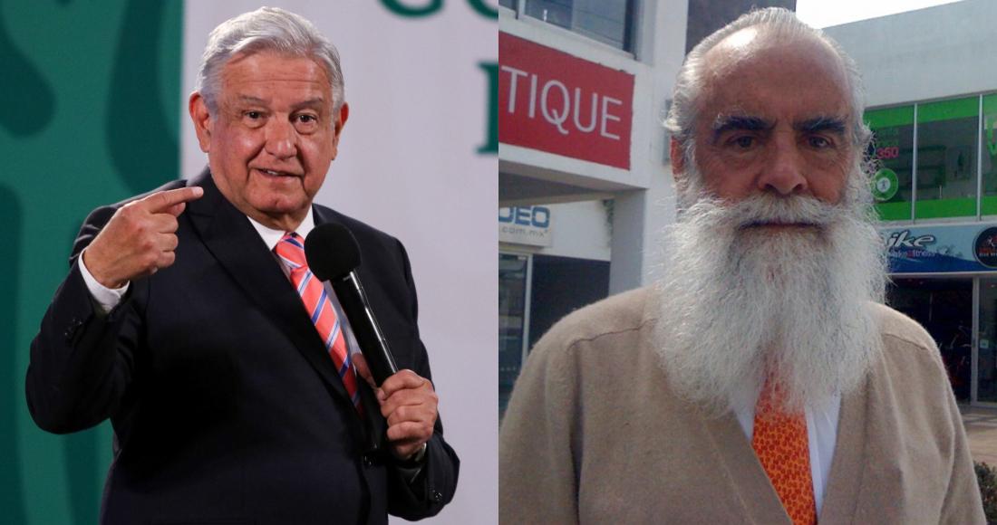 El Presidente Andrés Manuel López Obrador y Diego Fernández de Cevallos, excandidato a la Presidencia de México.