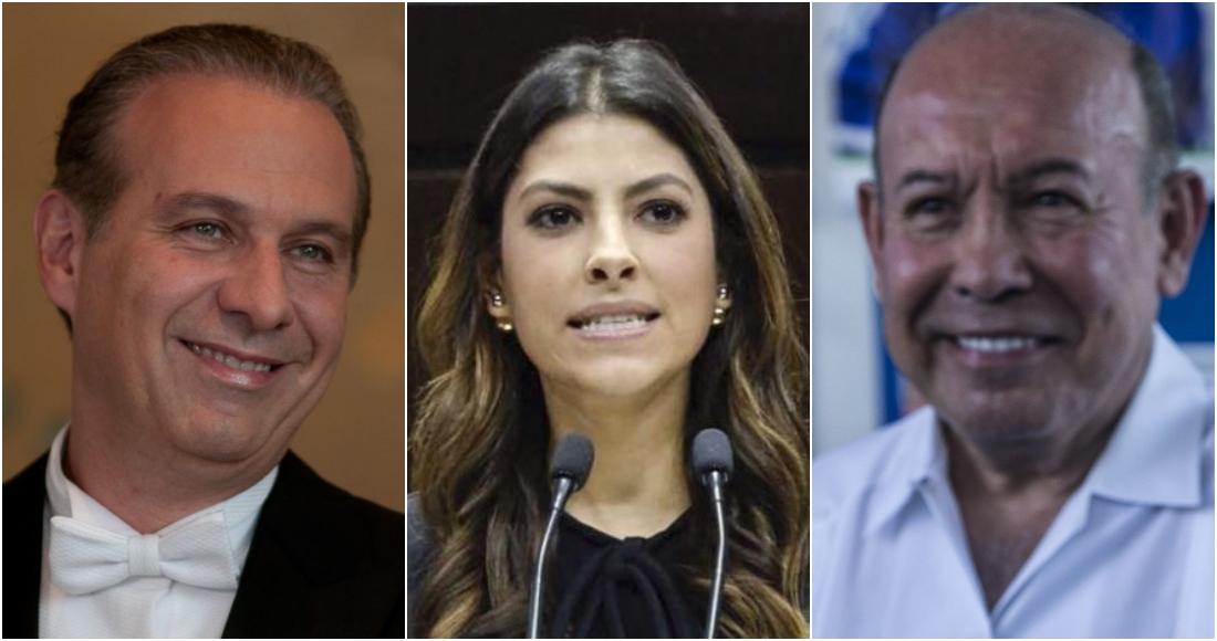 Juan Collado, Sylvana Beltrones y Juan Millán, algunos de los priistas que han guardado millones en la la Banca Privada d' Andorra. Fotos: Cuartoscuro.