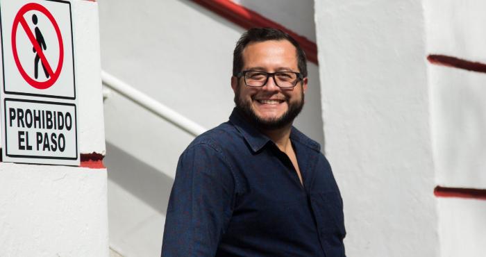 José Ramón López Beltrán, hijo de Andrés Manuel López Obrador.