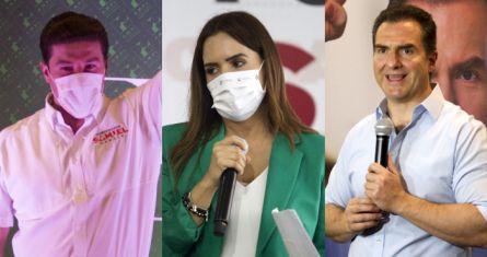 Candidatos a la gubernatura de Nuevo León.