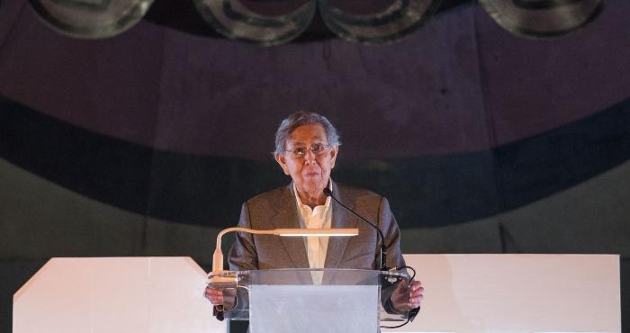 Cuauhtémoc Cárdenas Solórzano, político mexicano.