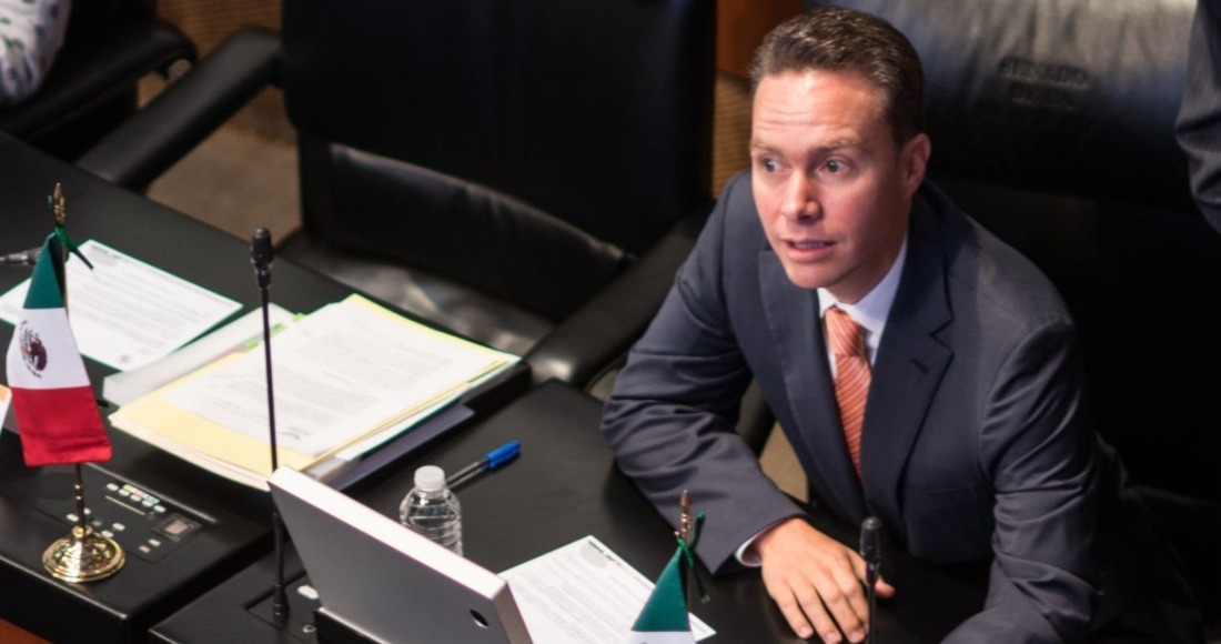Manuel Velasco Coello, exgobernador del estado de Chiapas y Senador del Partido Verde Ecologista de México (PVEM).