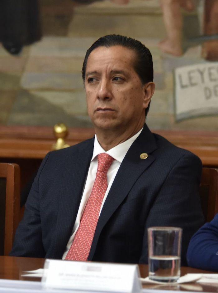 Jorge Olvera, Comisionado de Derechos Humanos del Estado de México. Foto: Crisanta Espinosa Aguilar, Cuartoscuro.