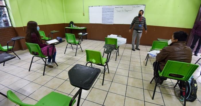 Regreso a clases presenciales en el Estado de México.