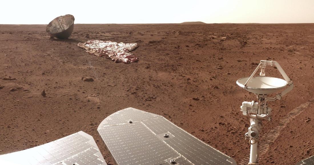 Rover el marciano de China