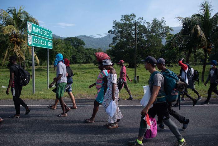 Tres agencias de la ONU exigen a México respetar a migrantes por violencia en Chiapas
