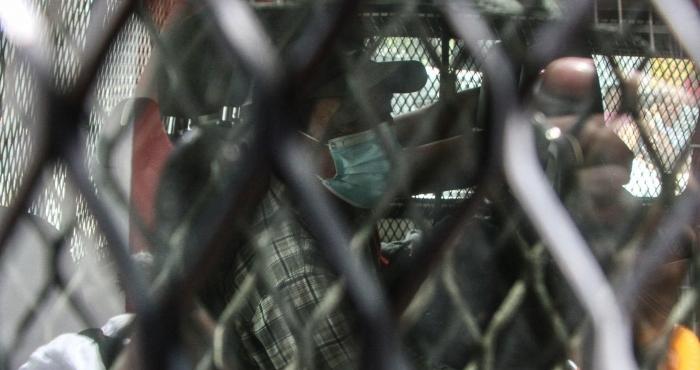 Detención de migrantes en Hotel de Escuintla, Chiapas.