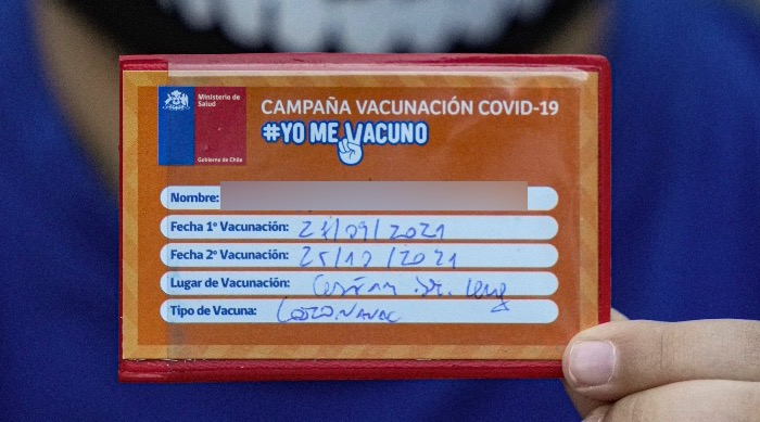 image 2 - Chile inicia vacunación de niños de 6 a 11 años en escuelas; piden permiso de padres