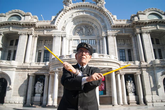 Tino Contreras. Ciudad de México. Año 2015.