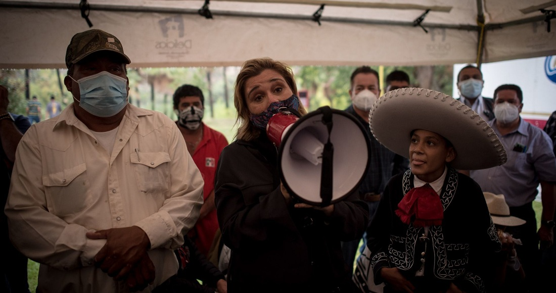 Maru Campos repite método de César Duarte para pagos de nómina en Chihuahua