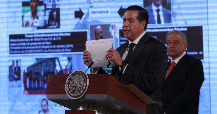 El Subsecretario de Seguridad Pública federal, Ricardo Mejía Berdeja.