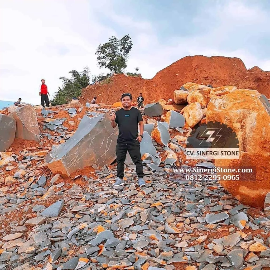 Jual Batu Alam Andesit Cirebon untuk Pagar Dinding Lantai Harga Termurah