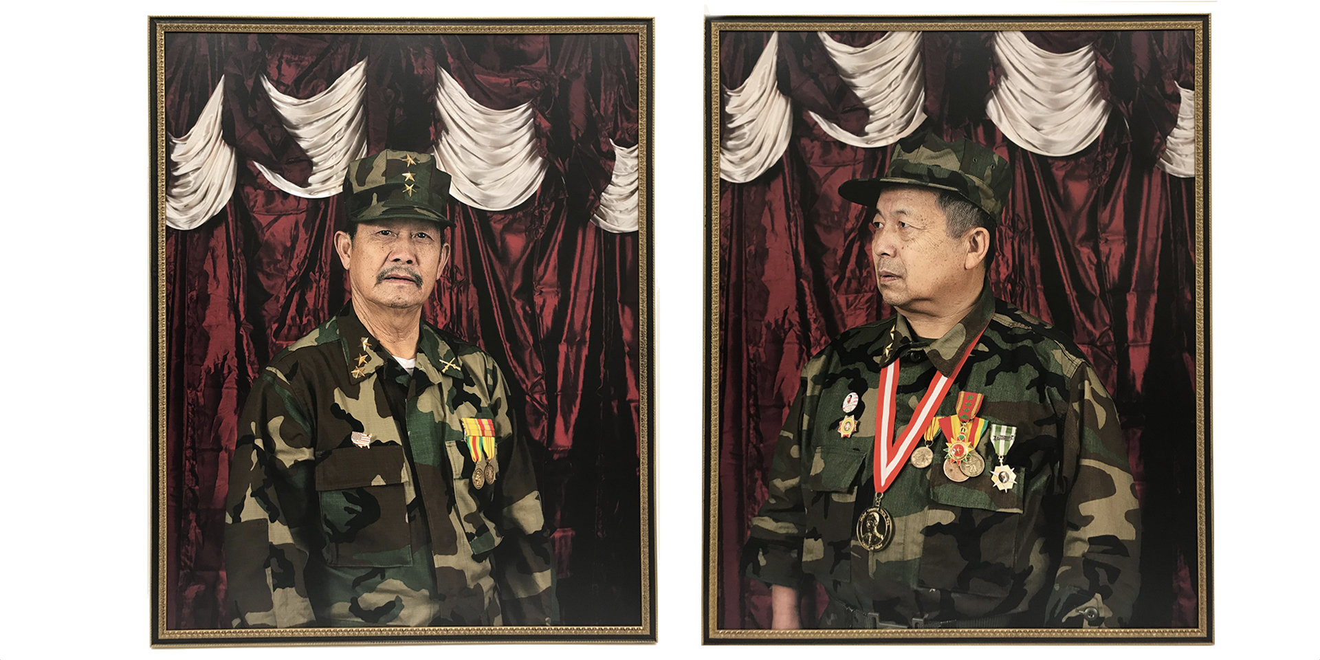 Hmong Veterans Attention By Pao Houa Her