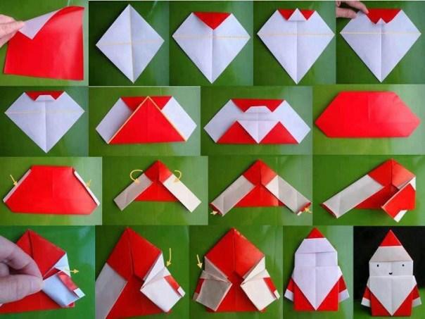 Folding a Santa Claus