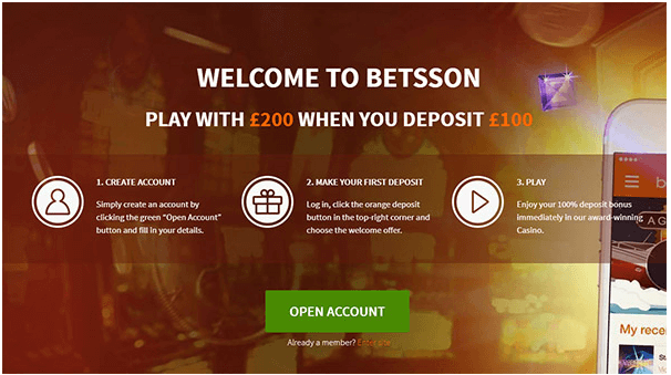 Betsson Bonuses