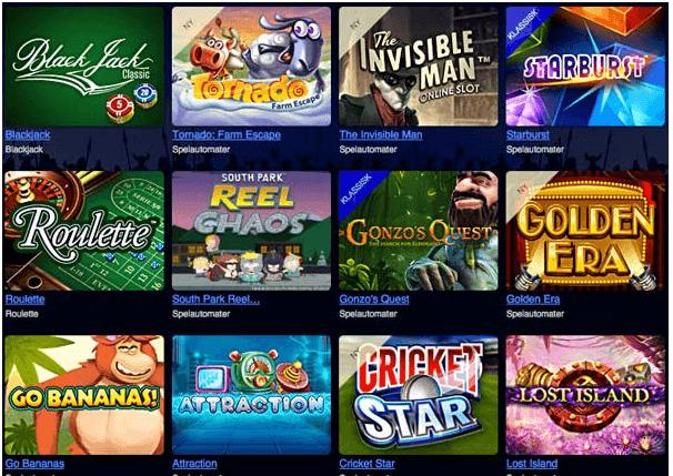 Betsson Casino Games