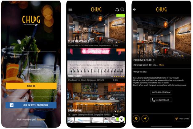 Chug app