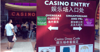 Casino entry fees in Singapore