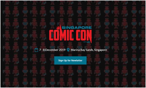 Comic Con Singapore 2019
