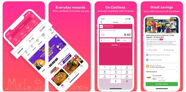 Fave foodies app