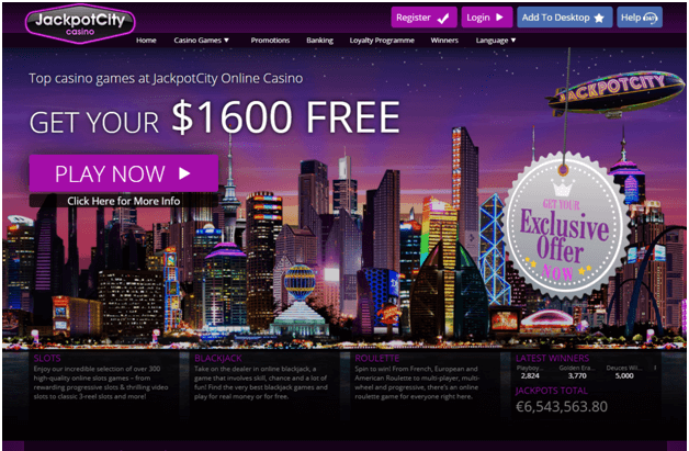 Jackpot city casino- Singapore play