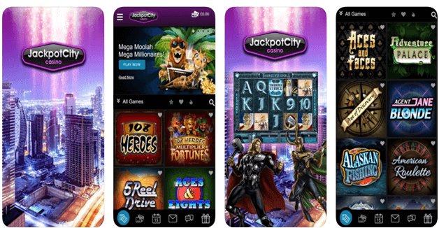 Jackpot city casino mobile app- Singapore play