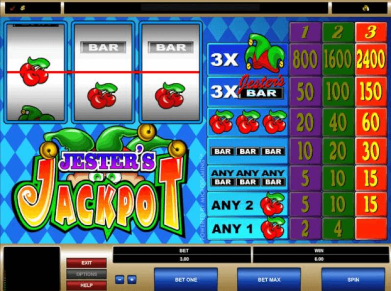 Jesters Jackpot slot game