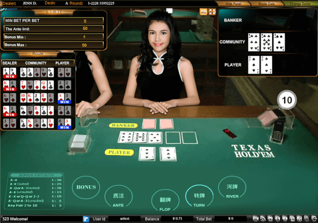 Live dealer -Other games