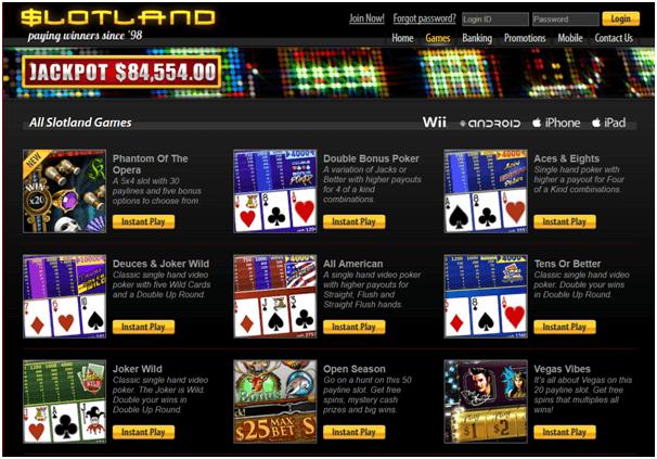 Slotland Games