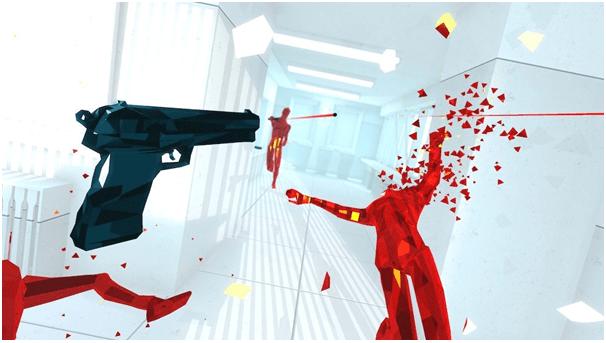 Super Hot VR game