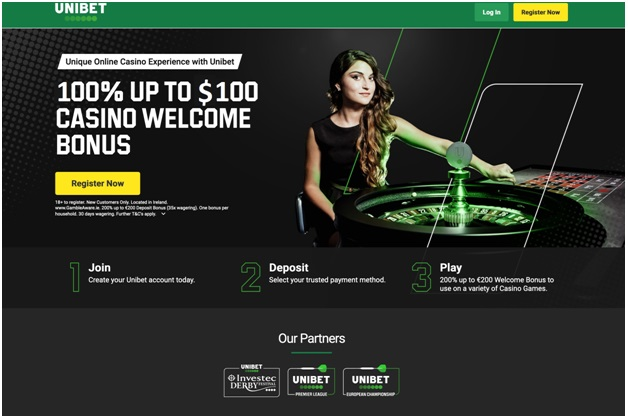 Unibet-Bonuses and promotions