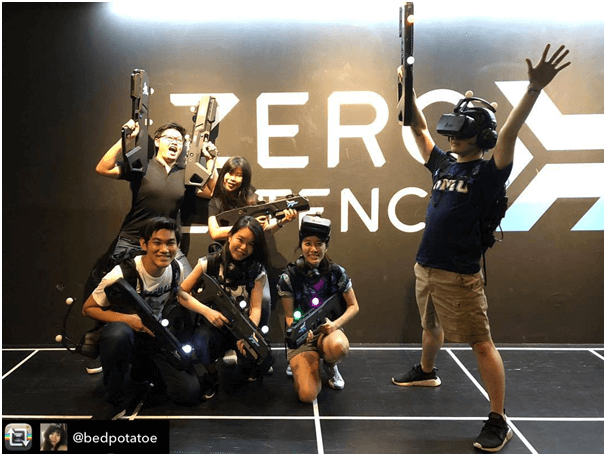 The best in VR rooms in Singapore