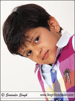 बाल मॉडल पोर्टफोलियो, दिल्ली, भारत