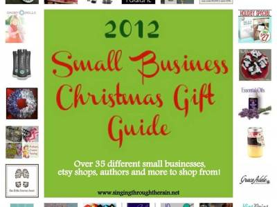 2012 Small Business Christmas Shopping Guide